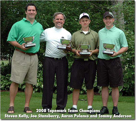 2008 Tapemark Team Champions