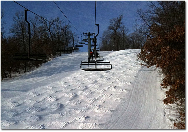 a visit to welch village ski and snowboard area