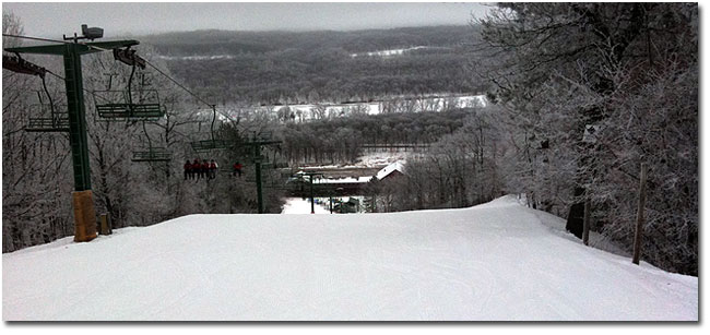 free skiing at wild mountain
