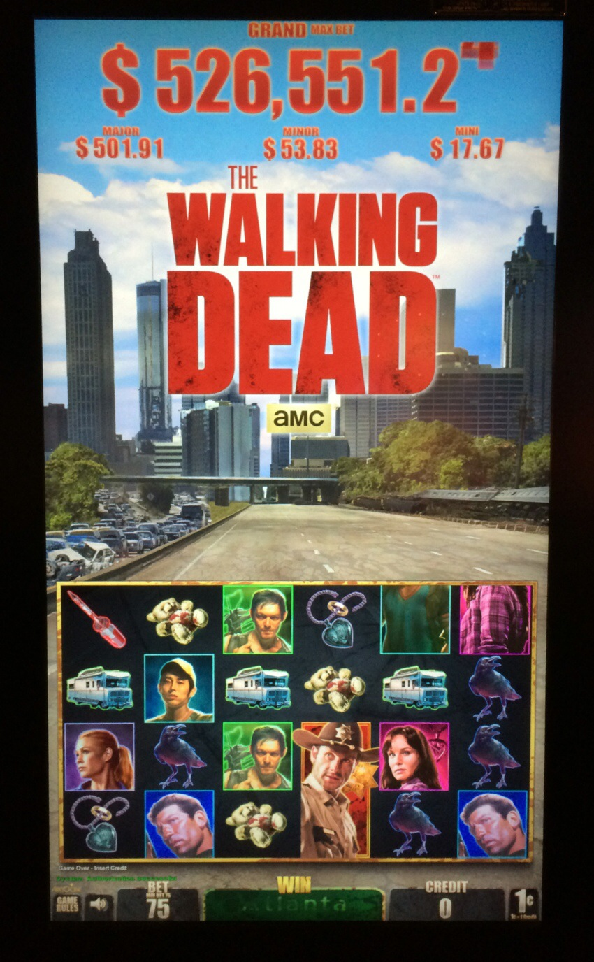Walking dead slot 2 online